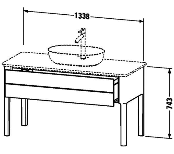 Technical drawing QS-V95963 / LU956103636