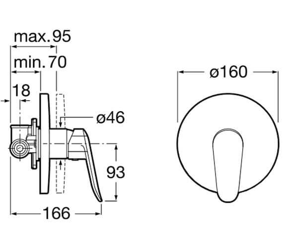 Technical drawing QS-V33608 / 5A2B27C00