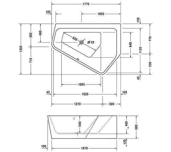 Technical drawing QS-V54231 / 700395000000000