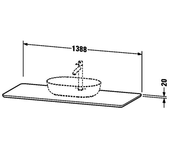 Technical drawing QS-V33280 / LU946601717