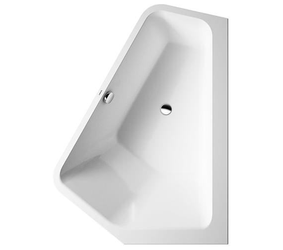 duravit paiova 1770 x 1300mm 5 corner right built in bath with frame. Black Bedroom Furniture Sets. Home Design Ideas