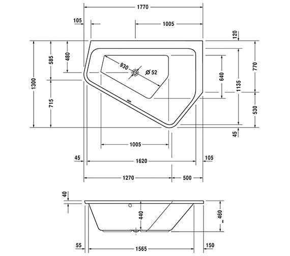 Technical drawing QS-V52443 / 700399000000000