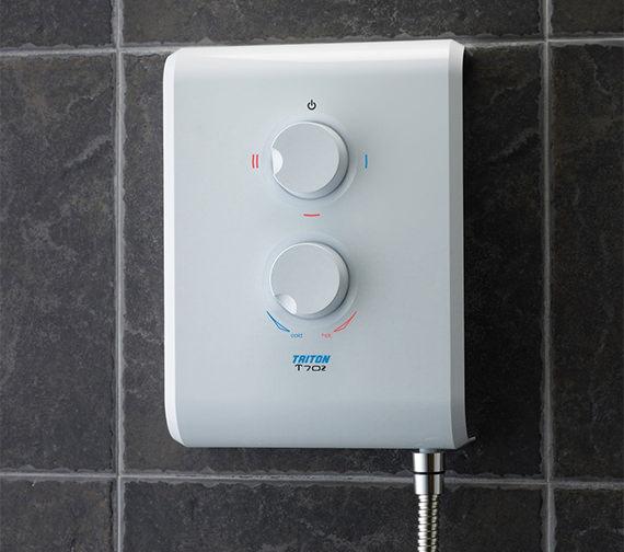 Triton T70Z White Electric Shower 8.5kw