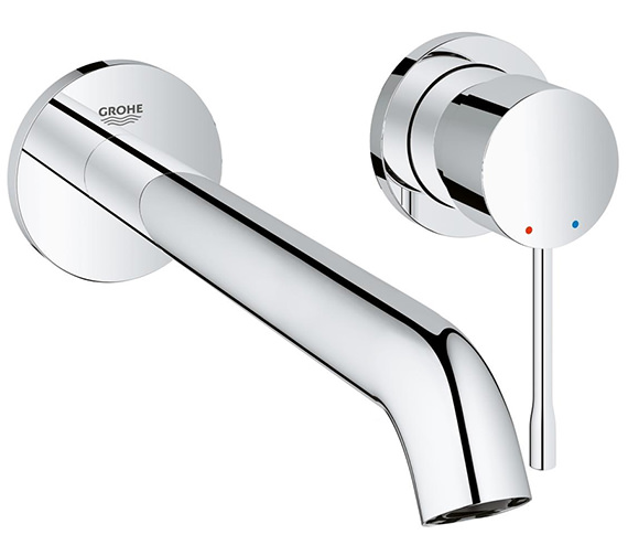 Grohe Essence New L-Size 2 Hole Basin Mixer Tap