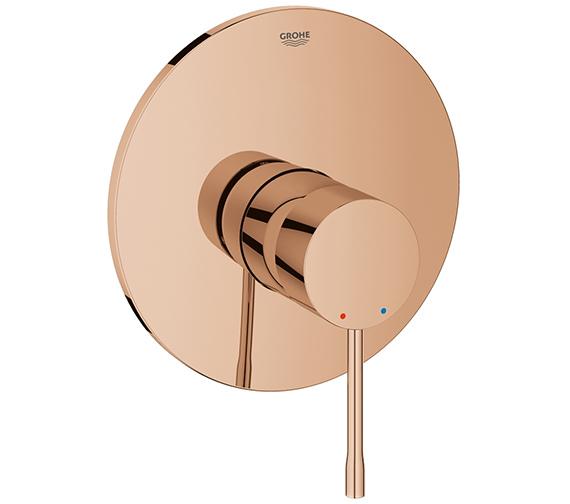 Alternate image of Grohe Essence New Single Lever Shower Mixer Trim