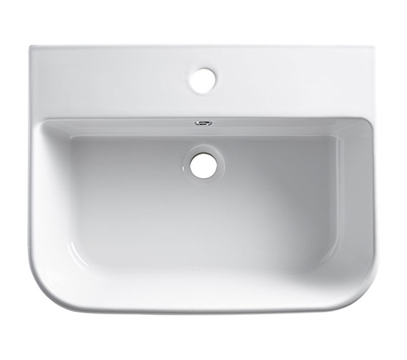 Additional image of Roper Rhodes Cover Slim Semi Countertop Basin 560 x 345mm