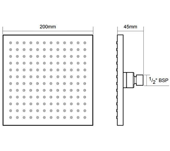 Technical drawing QS-V24765 / TSHFKELSCH