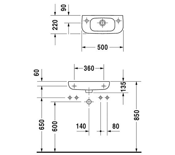 Technical drawing QS-V49414 / 07065000002