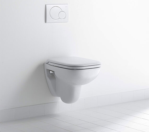 Duravit D-Code 480mm Wall Hung Compact Toilet