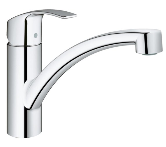 Grohe Eurosmart Half Inch Deck Mounted Kitchen Sink Mixer Tap