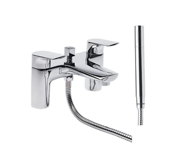 Tavistock Strike Bath Shower Mixer Tap And Handset