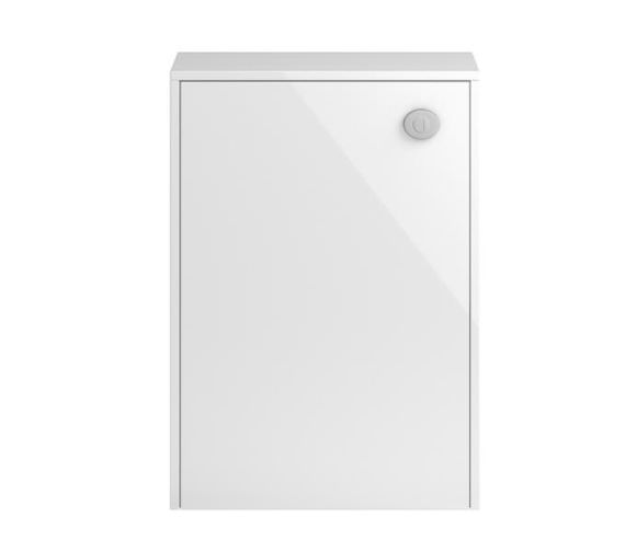 Hudson Reed Coast 600mm Gloss White And Coco Bola WC Unit