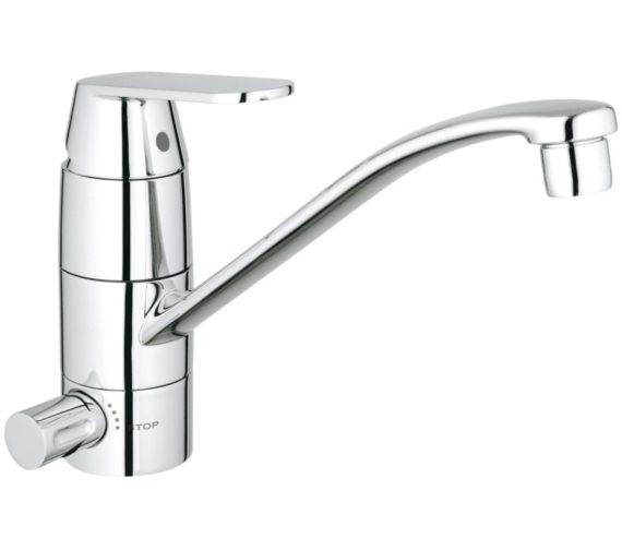 Grohe Eurosmart Cosmopolitan Single Hole Kitchen Sink Mixer Tap