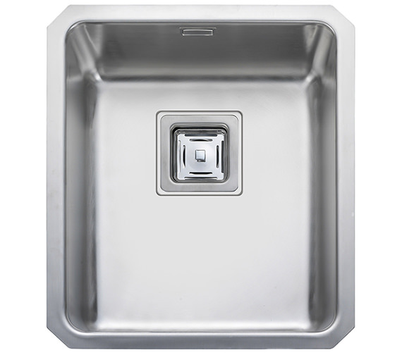 Rangemaster Atlantic Quad QUB34 Stainless Steel Undermount Kitchen Bowl