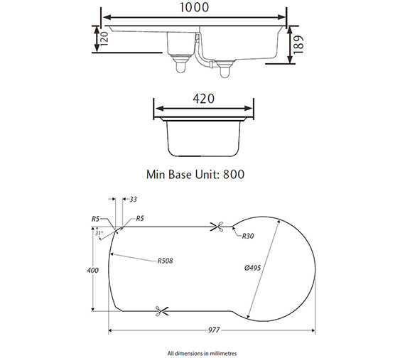 Technical drawing QS-V12145 / KY10002/