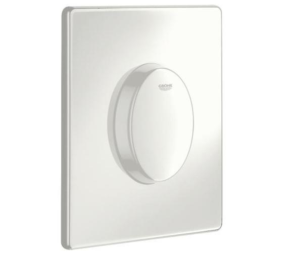 Grohe Skate Air Alpine White WC Wall Flush Plate