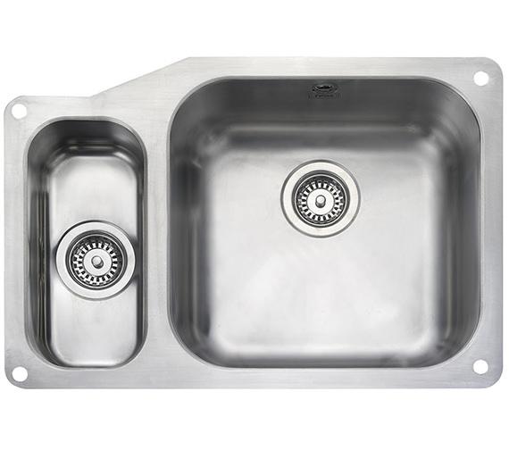Rangemaster Atlantic Classic Undermount 1.5 Bowl Kitchen Sink 671mm LH
