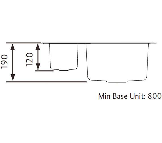 Technical drawing QS-V11081 / UB4015L/