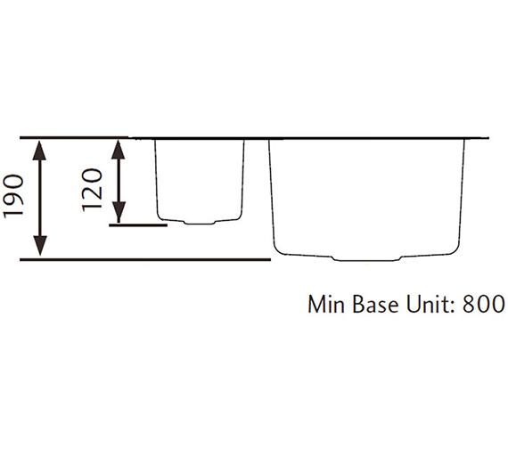 Technical drawing QS-V11082 / UB4015R/