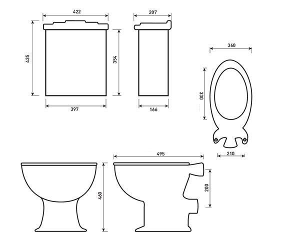 Technical drawing QS-V29988 / BA042W