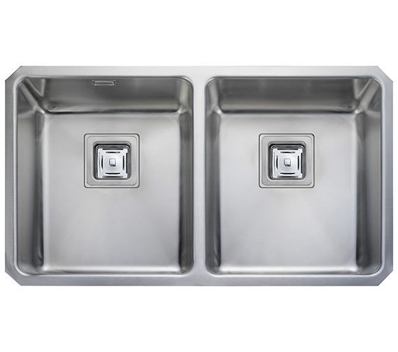 Rangemaster Atlantic Quad 2.0 Bowl Stainless Steel Undermount Kitchen Sink