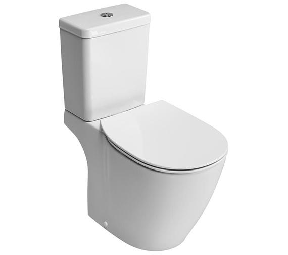 Ideal Standard Concept Cube Aquablade Close Coupled WC Pan 665mm