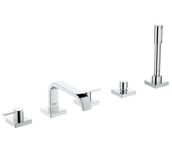 Grohe Allure 5 Hole Bath Shower Combination Tap With Lever Handle