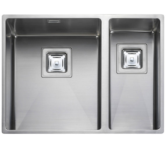 Rangemaster Atlantic Kube 1.5 Bowl Undermount Kitchen Sink