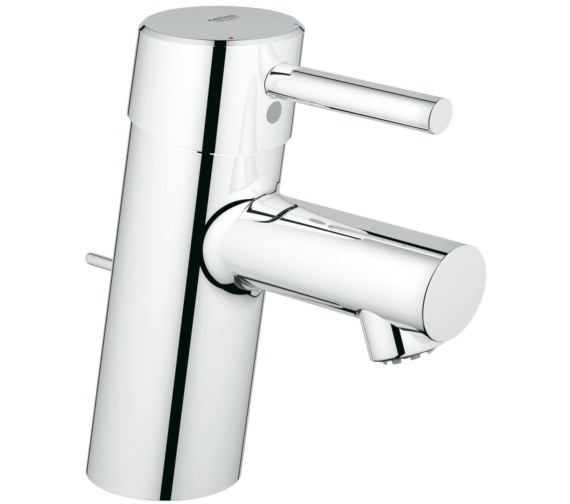 Grohe Concetto Single Hole Basin Mixer Tap With Pop-Up Waste