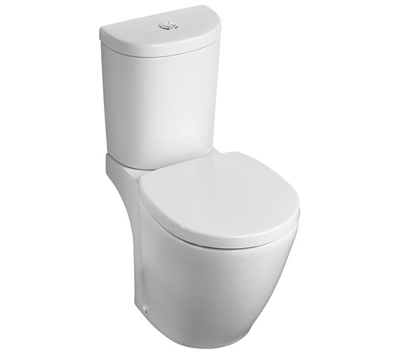 Ideal Standard Concept Space Arc Compact Close Coupled WC Pan 605mm