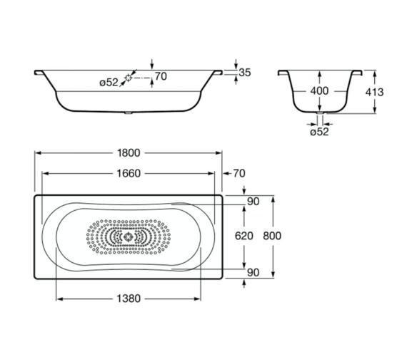 Technical drawing QS-V19275 / 221670000