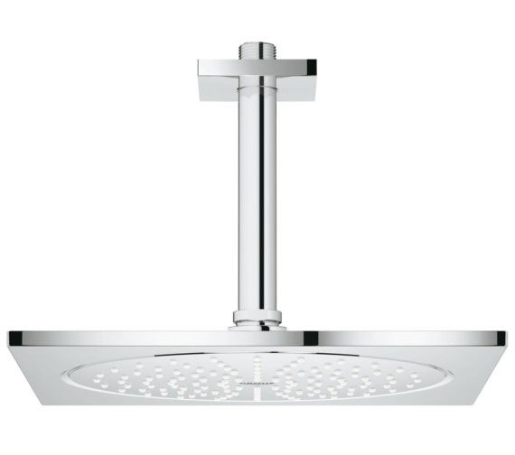 Grohe Rainshower F-Series Head Shower With 142mm Ceiling Arm