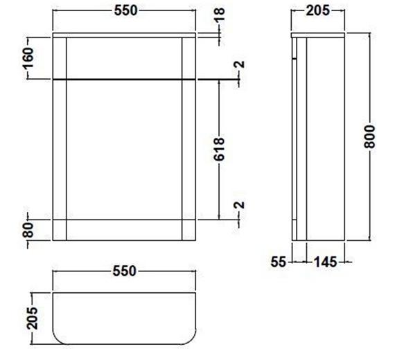 Technical drawing QS-V73275 / PMP141