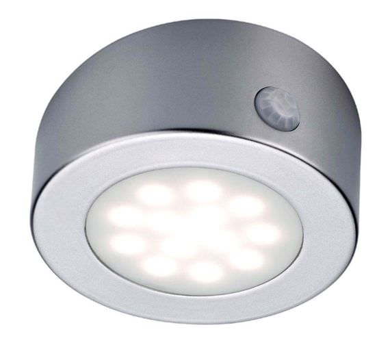 Hudson Reed Solus Round Rechargeable LED Light