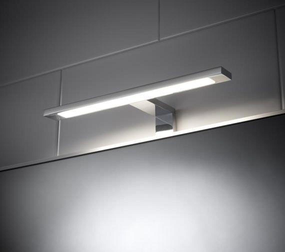 Hudson Reed Neptune 300mm COB LED Over Mirror Light Cool White
