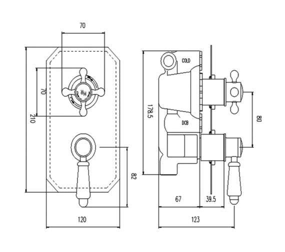 Technical drawing QS-V90230 / TSVT002