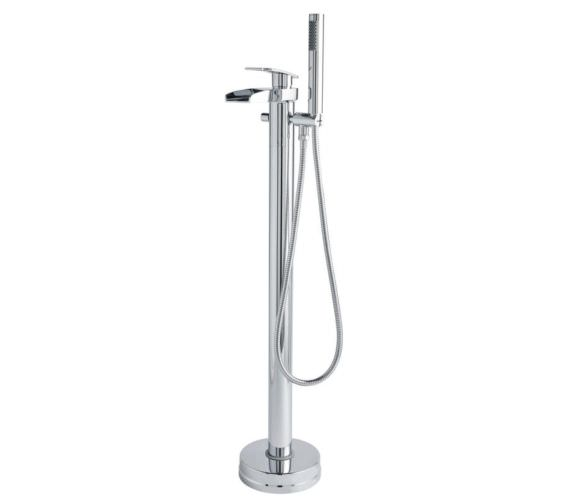 Hudson Reed Rhyme Open Spout Floor Standing Bath Shower Mixer Tap