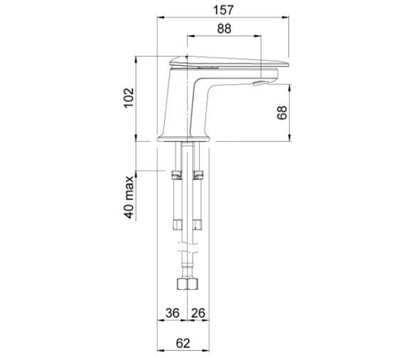 Technical drawing QS-V88115 / AOBMCPUK