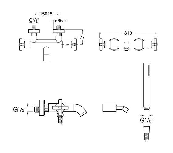 Technical drawing QS-V86267 / 5A1143C00