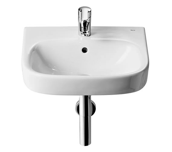 Roca Debba 350 x 300mm Wall Hung Basin With 1 Tap Hole