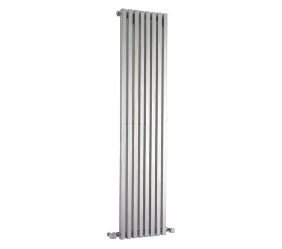 Hudson Reed Kinetic 360 x 1800mm Silver Vertical Designer Radiator