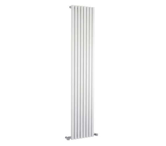 Hudson Reed Kinetic 360 x 1800mm White Vertical Designer Radiator
