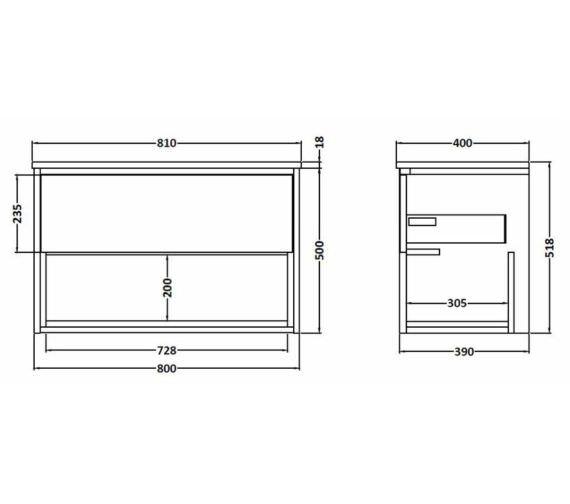 Technical drawing QS-V90067 / FMC888