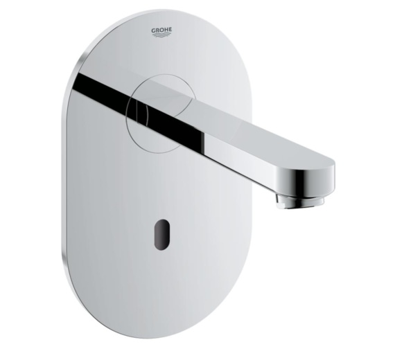 Grohe Euroeco CE Infra-Red Electronic Wall Basin Tap