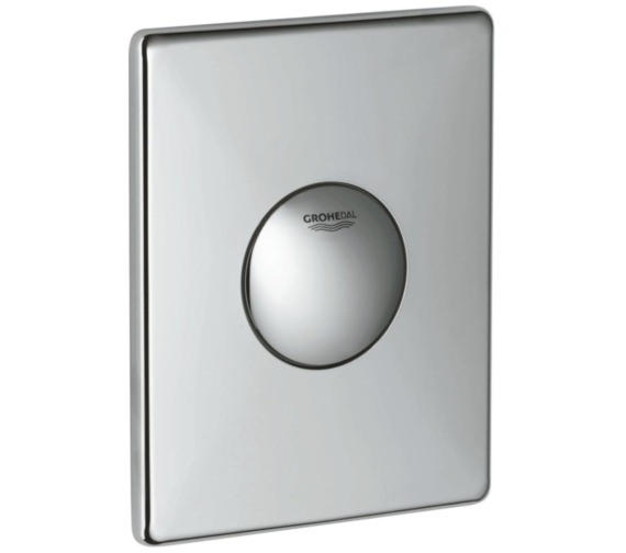 Additional image of Grohe Skate Alpine White Wall Flush Plate