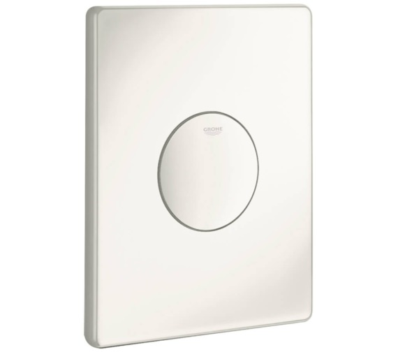 Grohe Skate Alpine White Wall Flush Plate