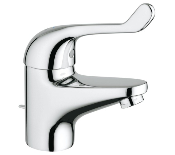 Grohe Euroeco Special Single Lever Basin Mixer Tap With Pop-Up Waste