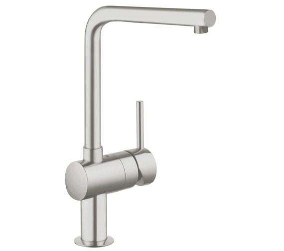 Additional image of Grohe Minta L Spout Chrome Kitchen Sink Mixer Tap
