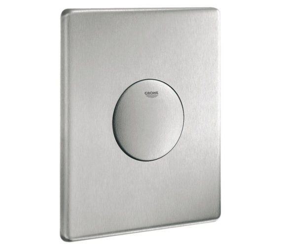 Grohe Skate Air Wall Flush Plate Stainless Steel