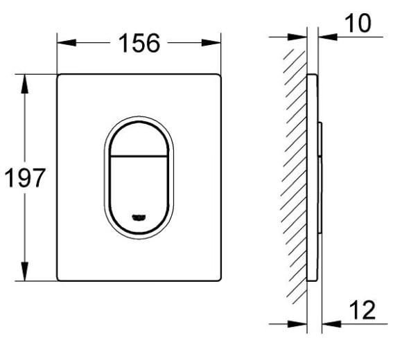Technical drawing QS-V7954 / 38844SH0